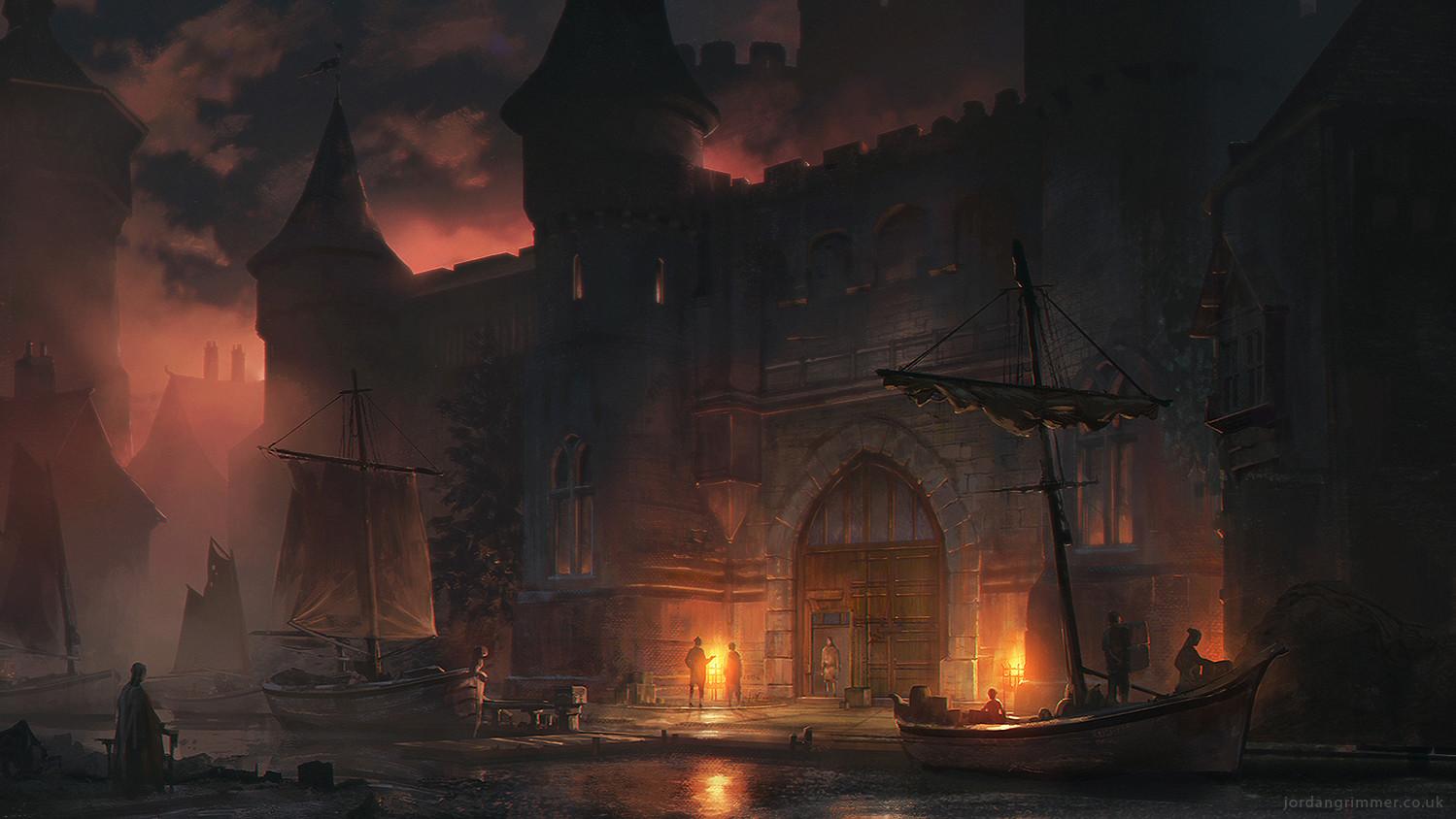 Artstation Dock Jordan Grimmer
