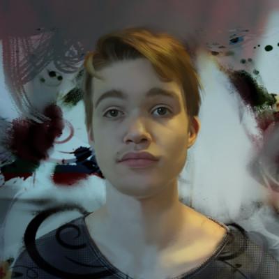 Guenter zimmermann portrait s background blur
