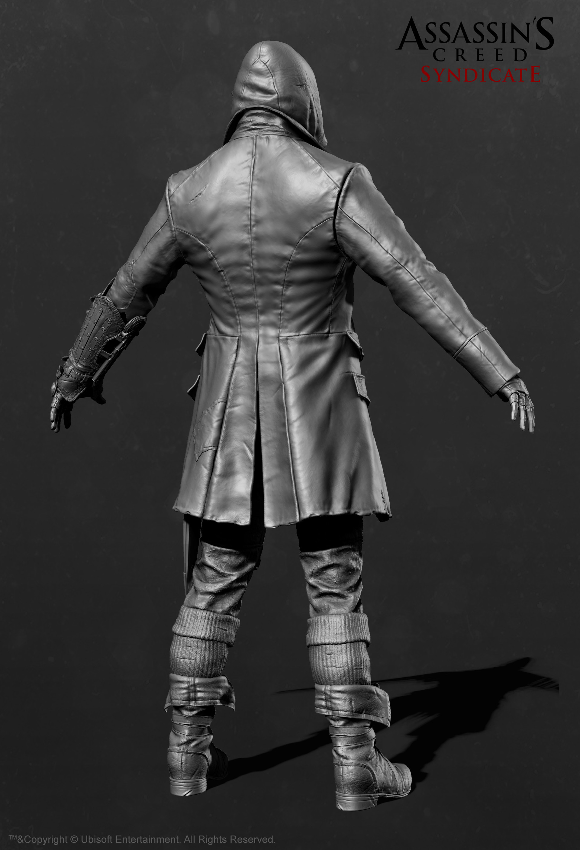 Jacob Frye Starting Outfit_Zbrush