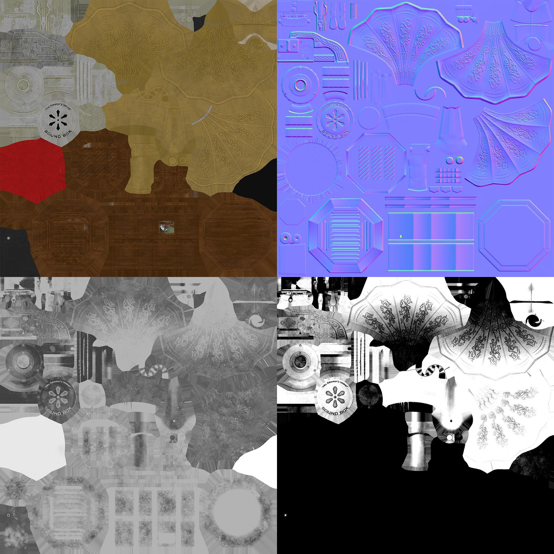 Roberto quye gramophone textures