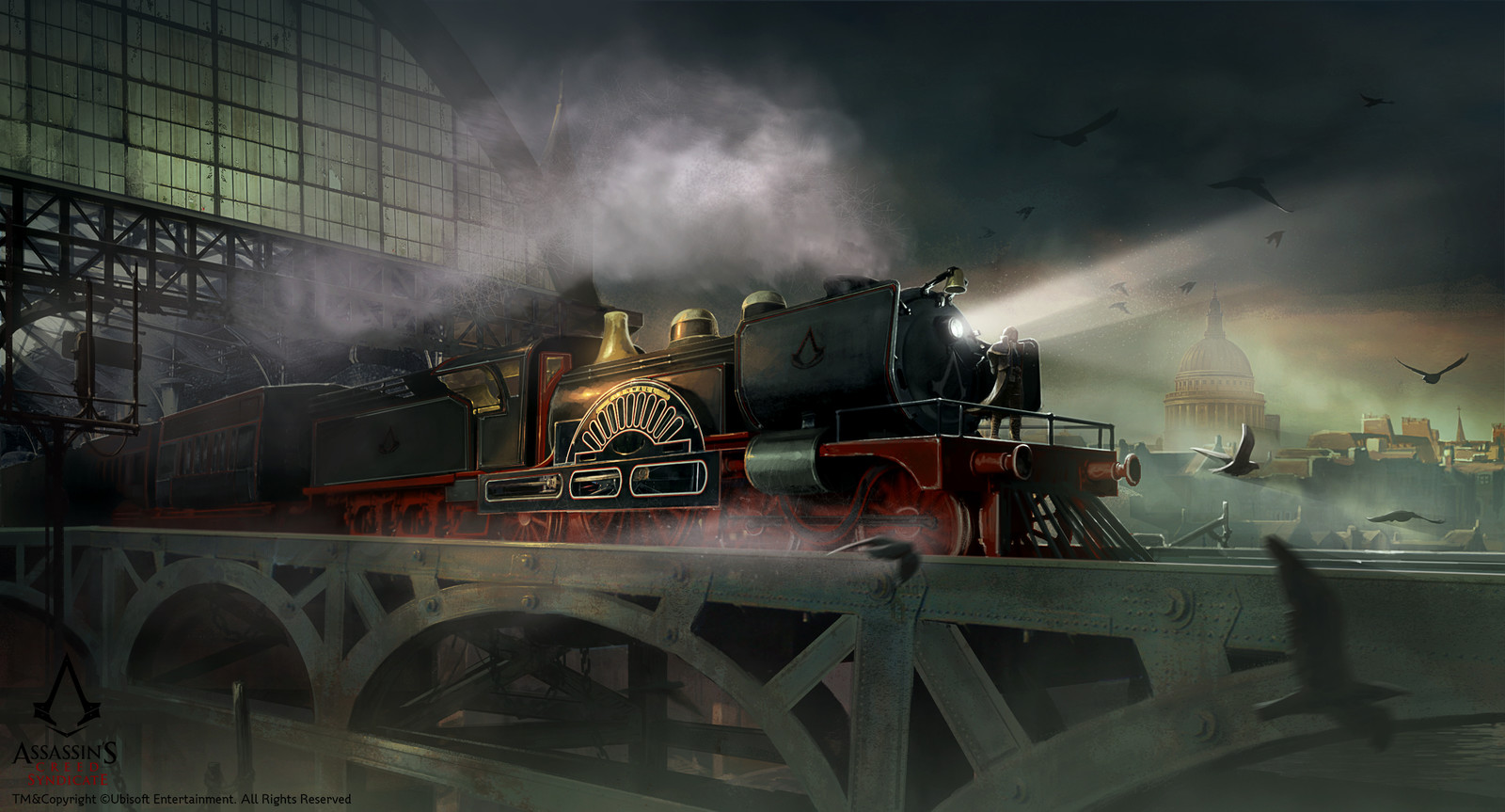 Assassin's Creed Syndicate /// Train Hideout mood