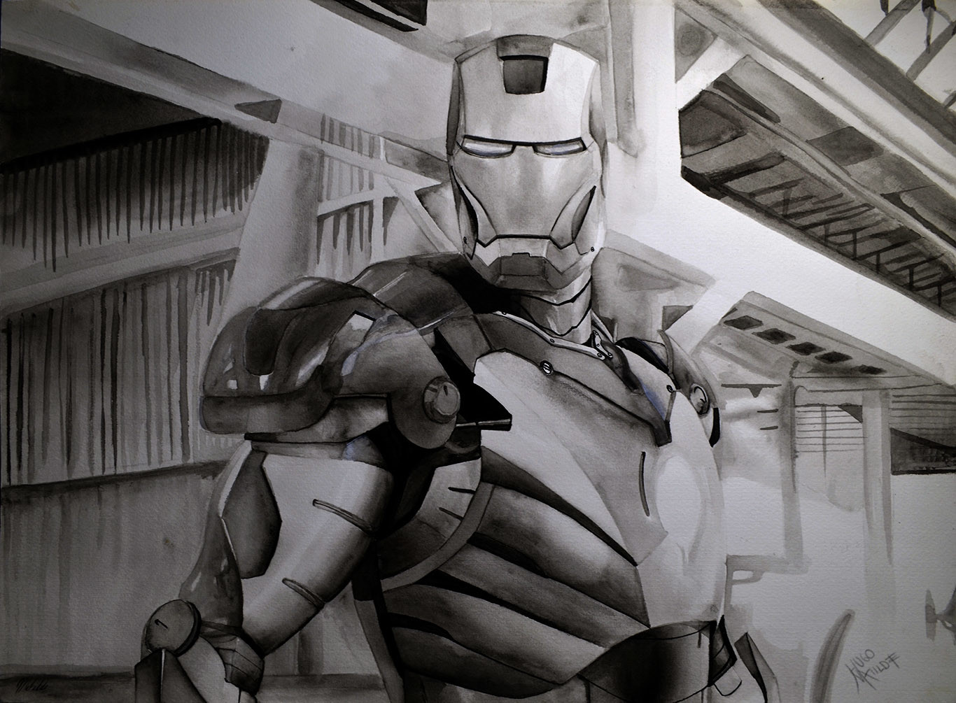 Hugo matilde iron man by hugo