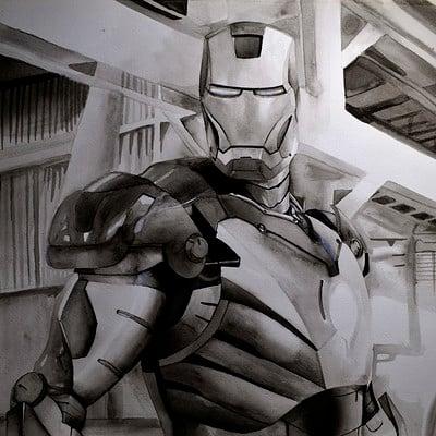 Hugo matilde iron man by hugo