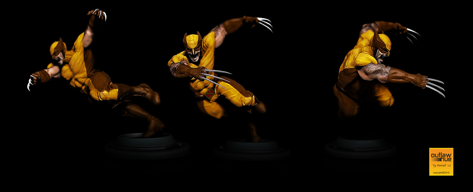 Wolverine multishots