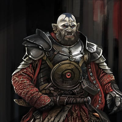 Ludovic sanson demi orc lordbd