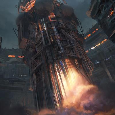 Leon tukker rocketship1 00731