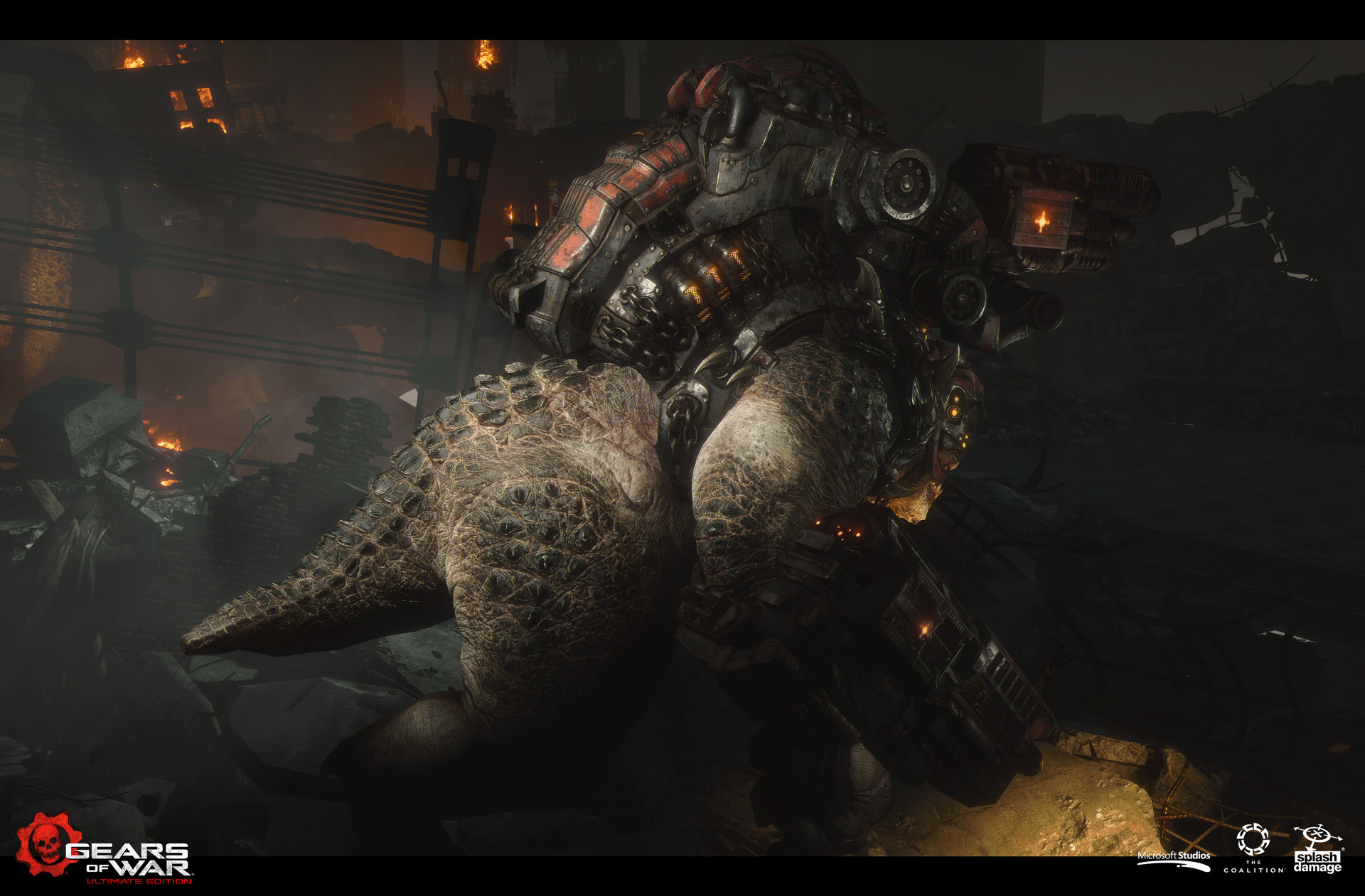 ArtStation - Gears of War: Ultimate Edition - Brumak update