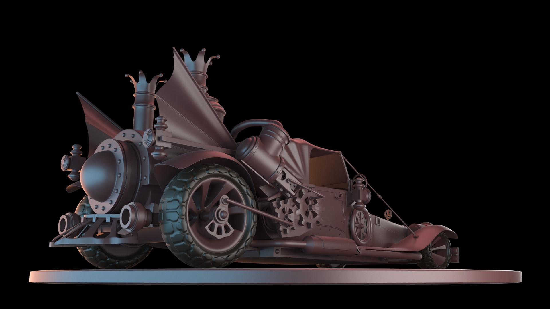 Franco Eusebi - Steampunk Car