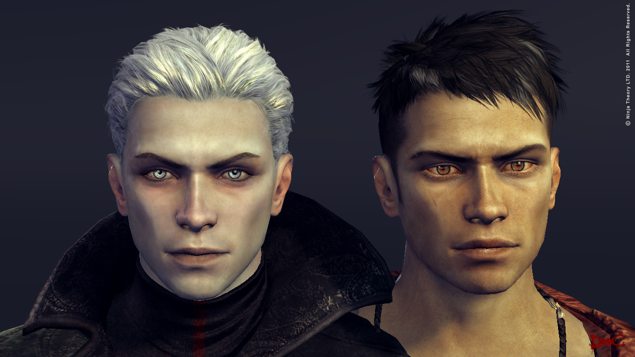 Hair for Dmc: Dante