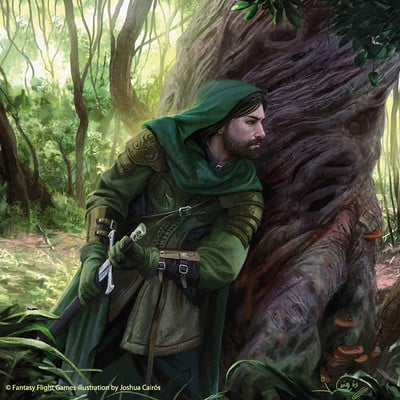 Joshua cairos damrod lord of the rings tcg by 1oshuart d9h3zlf