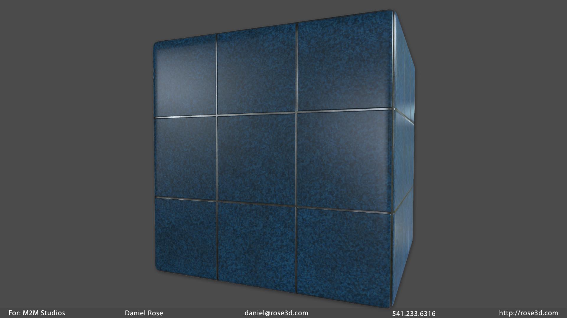 Daniel rose floortiles mat
