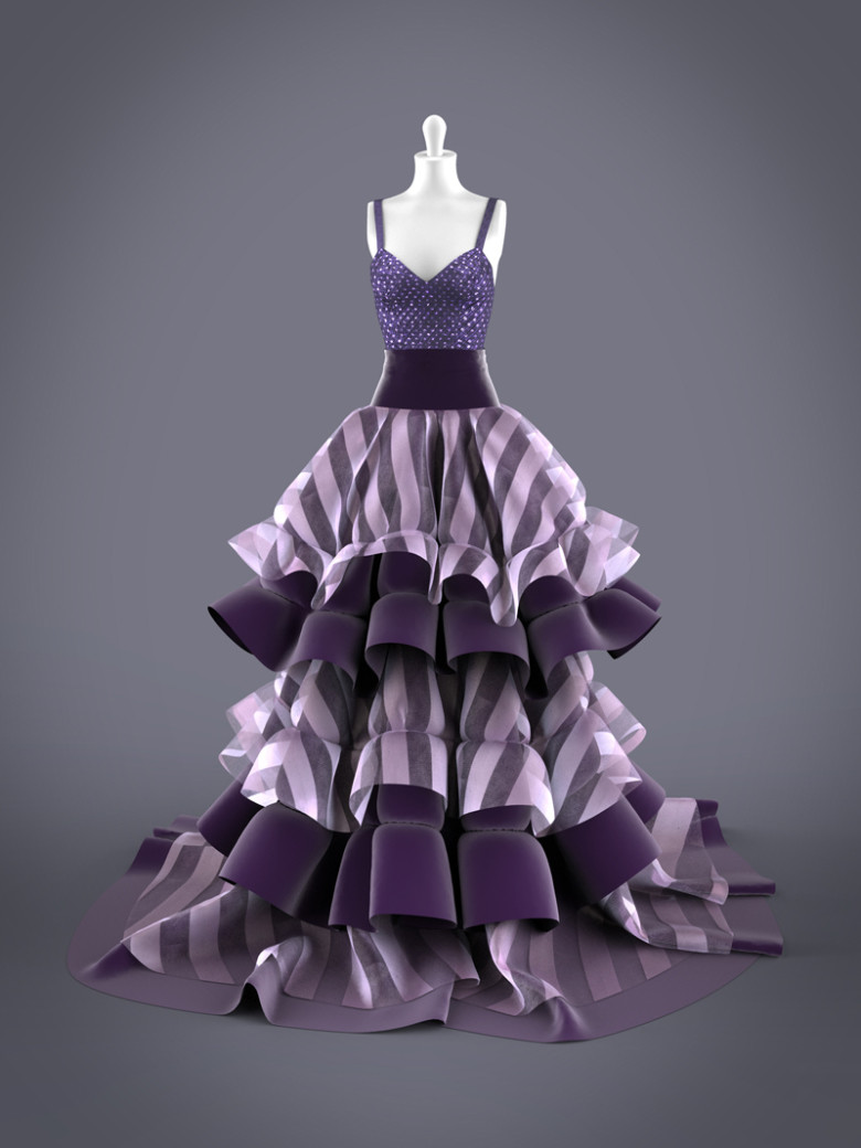 Jeen lih lun gown beautyrender front s