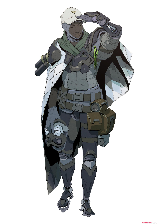Markus lenz character design markuslenz