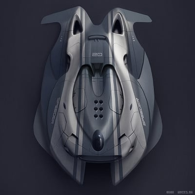 Encho enchev speed boat concept1