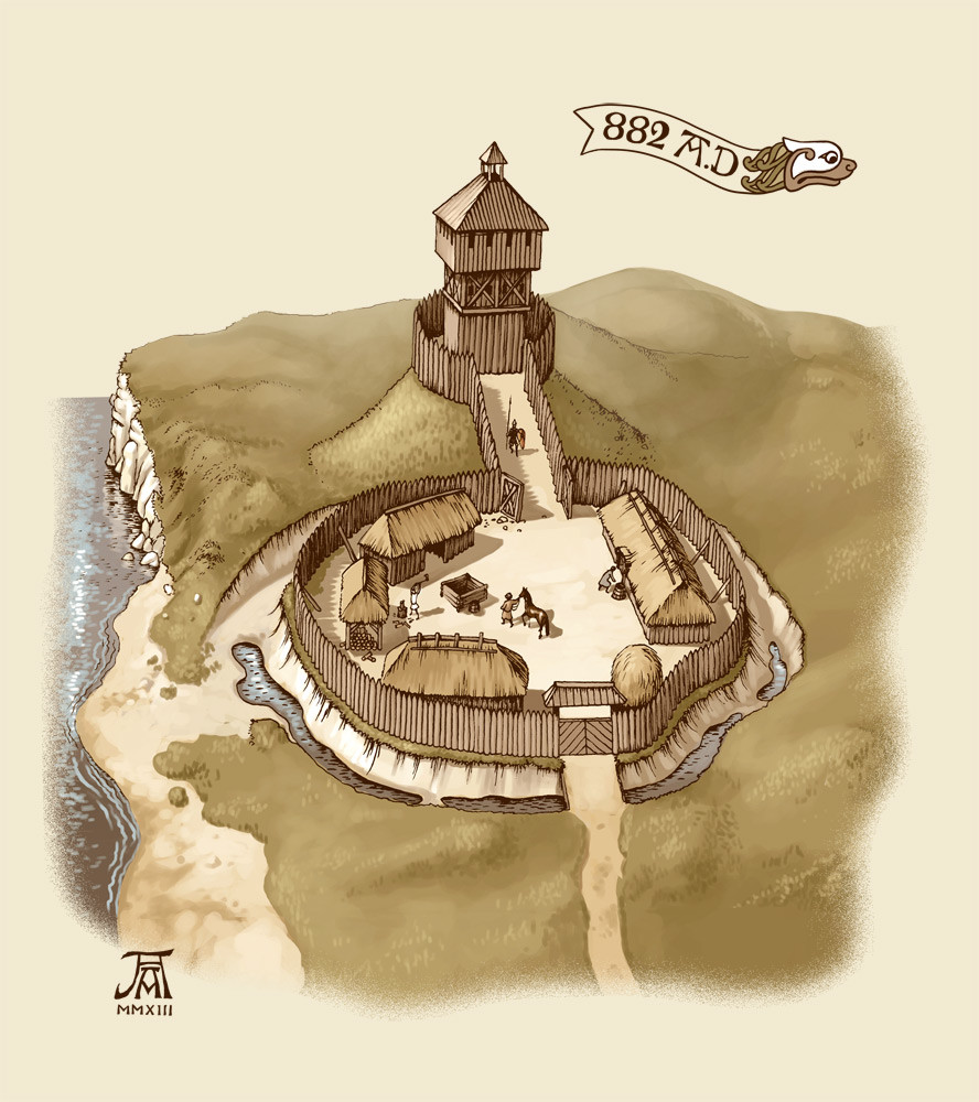 the evolution of castles An introduction to the motte and bailey castles built across england and wales  by the  to explain, look at how a typical motte and bailey site will have evolved.