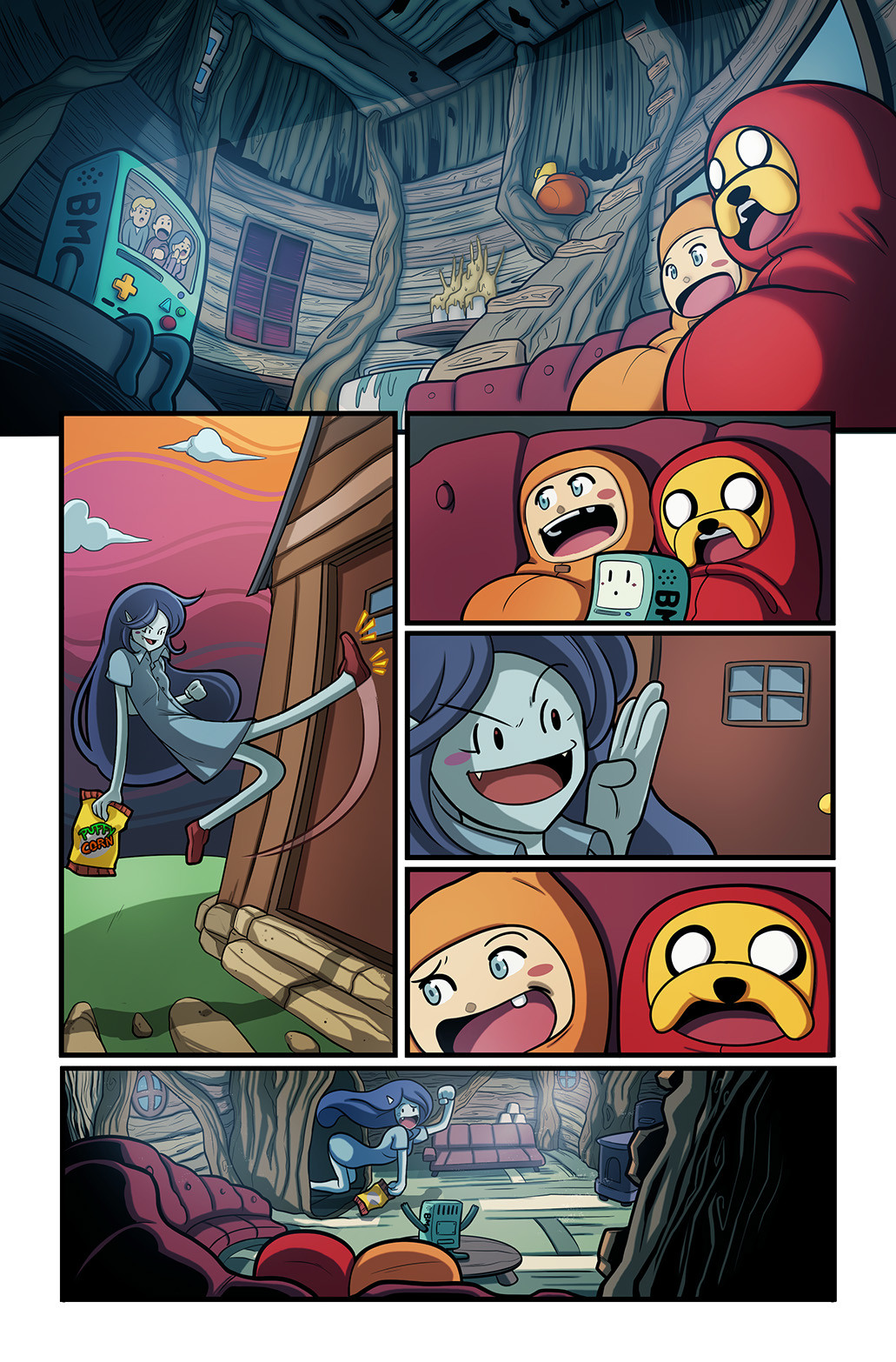 Adventure Time Sample pages