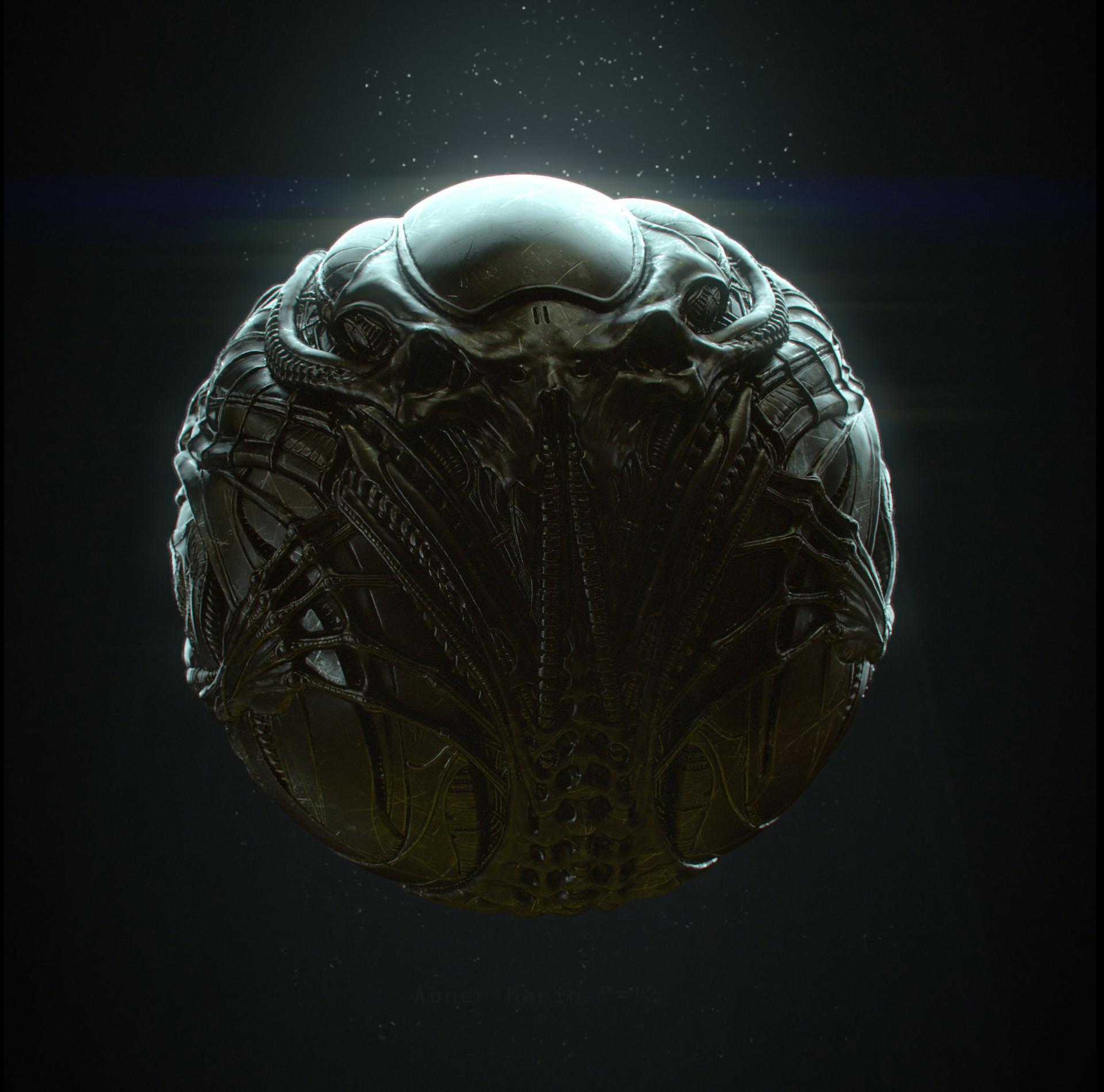 Abner marin alienartifact front
