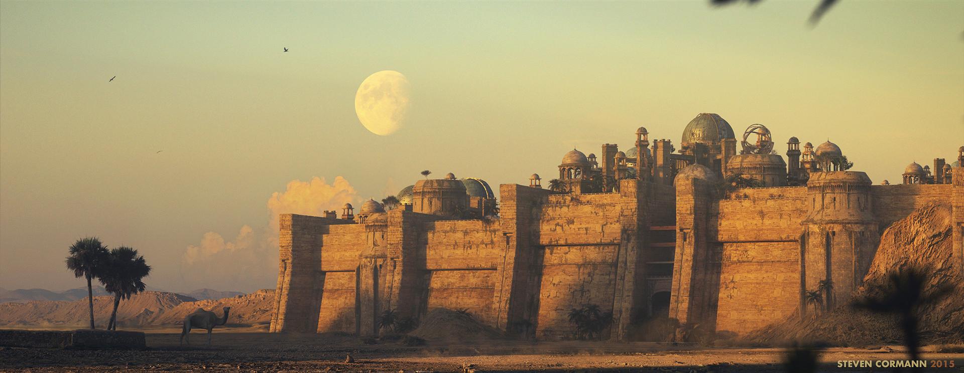 Steven cormann steven cormann desert city screen