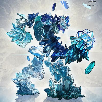 Ertac altinoz crystal golem