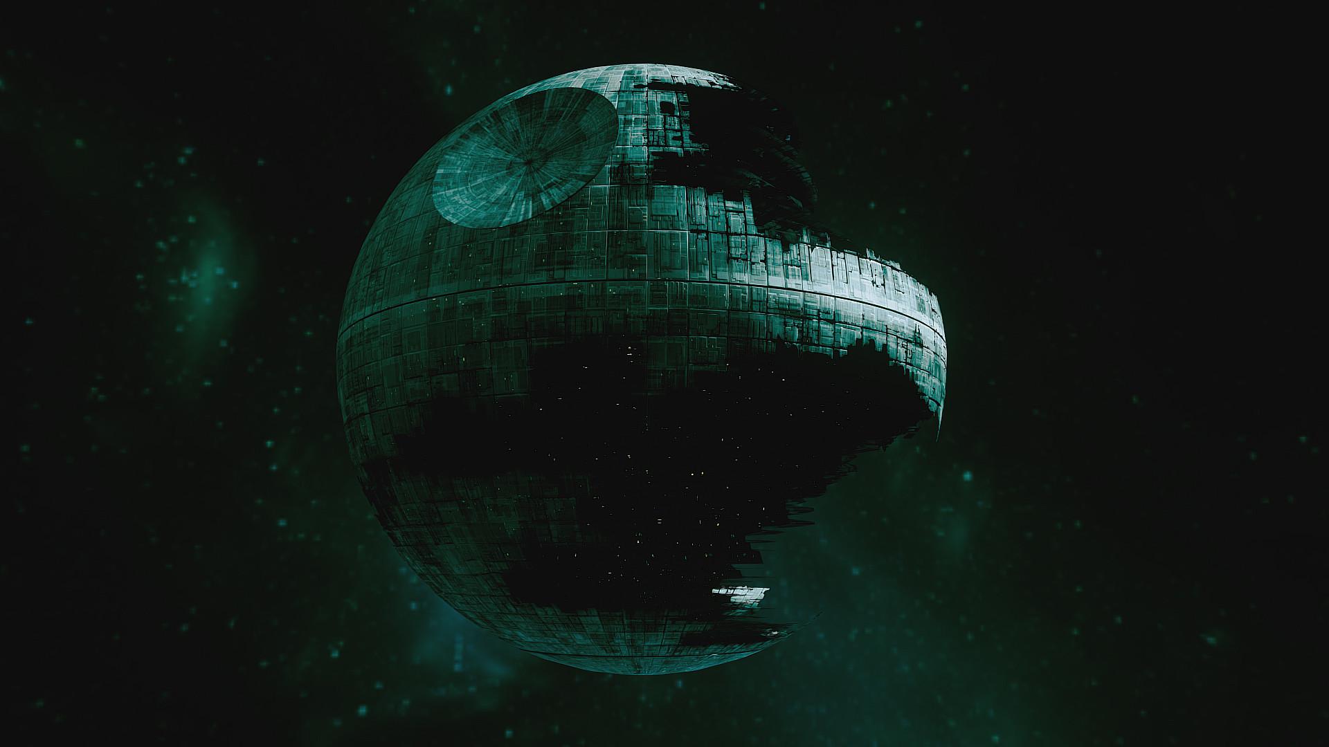 Artstation Death Star Ii Nathan Lange