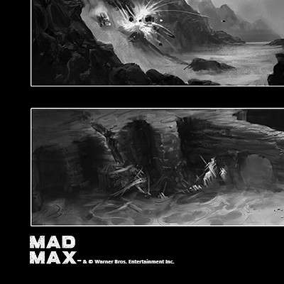 Pontus olofsson madmax great white sketches