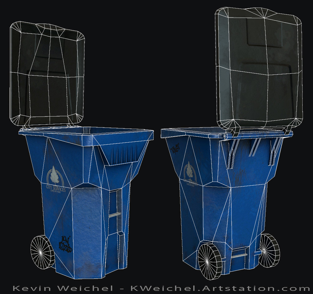 Kevin weichel trashcan wires