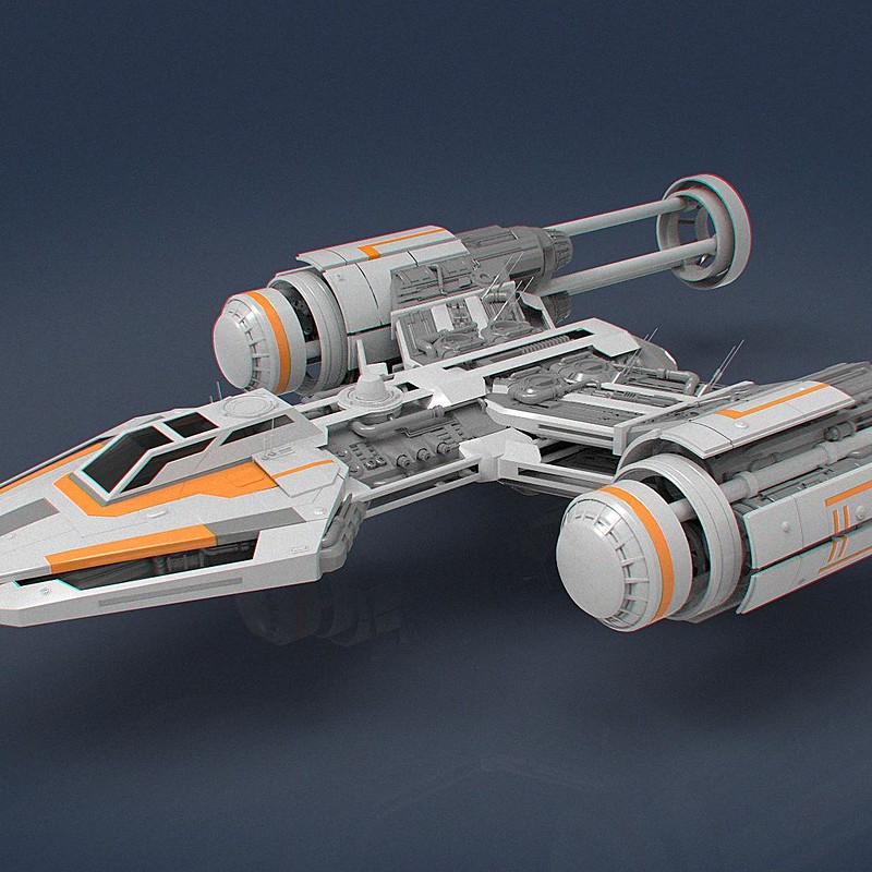 Y-Wing Redesign Version 1