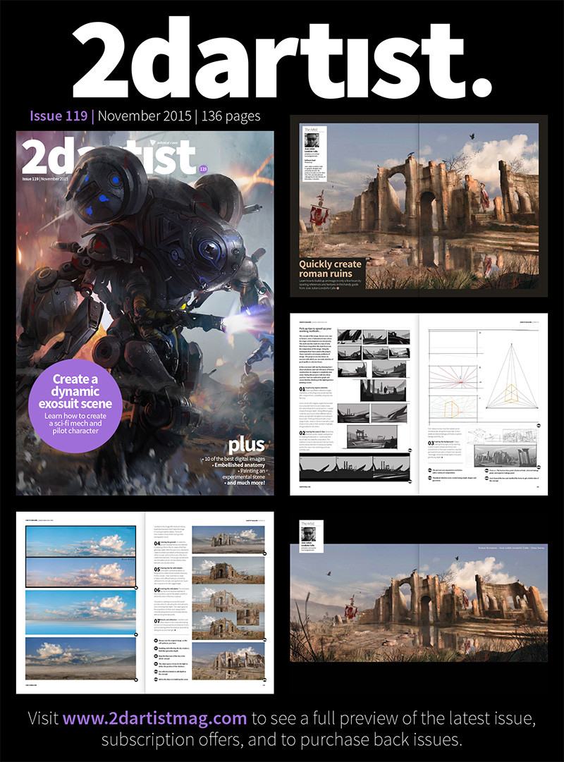 2dartist issue 119.