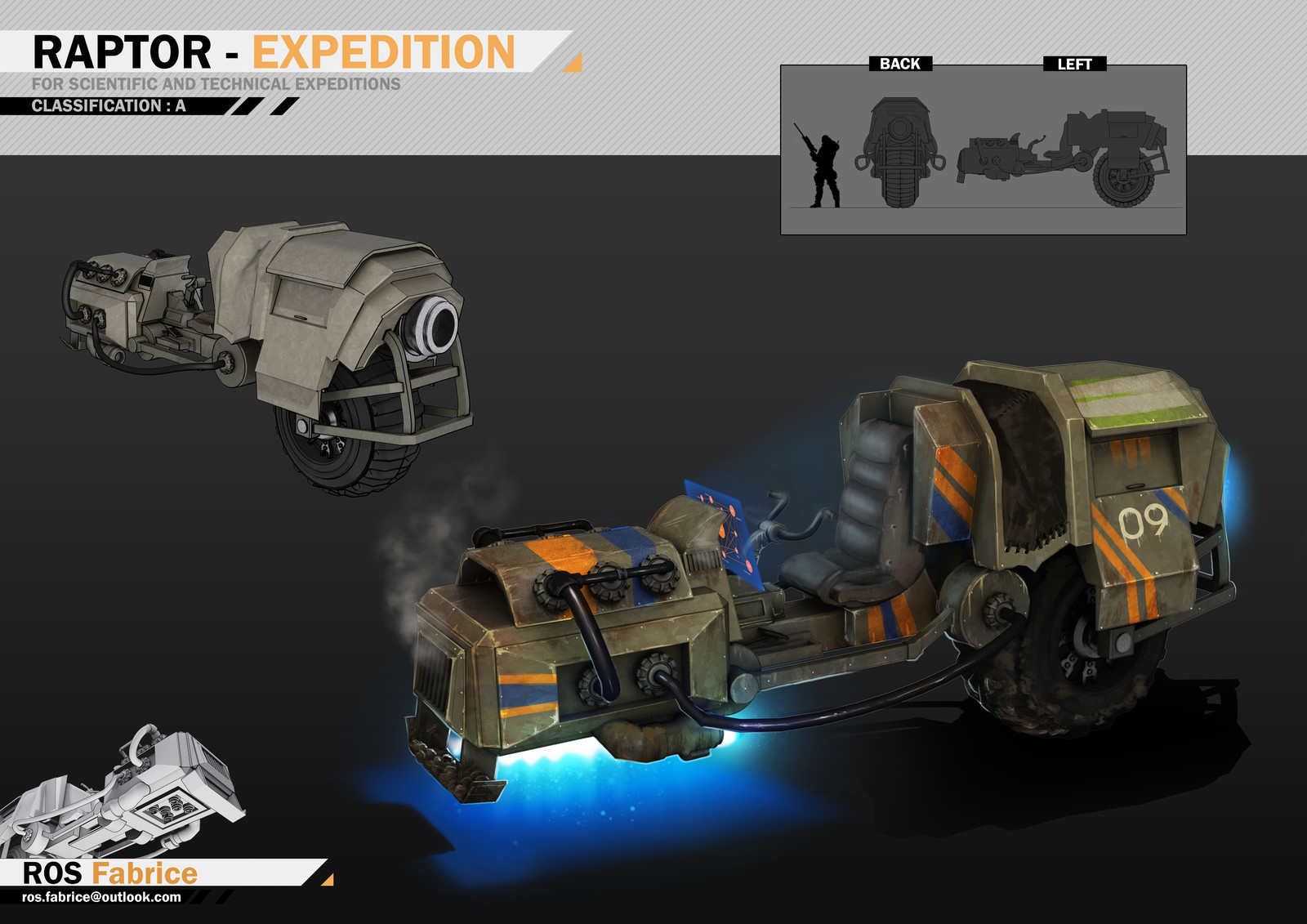 The RAPTOR - EXPEDITION