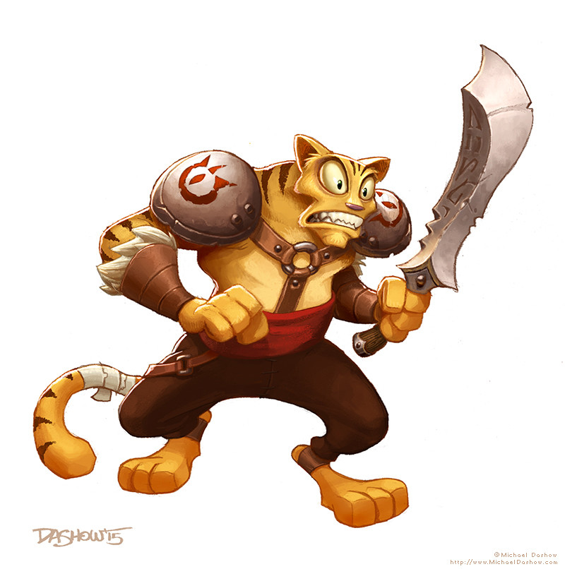 Michael dashow battlecat final