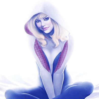 Marta g villena spider gwen2