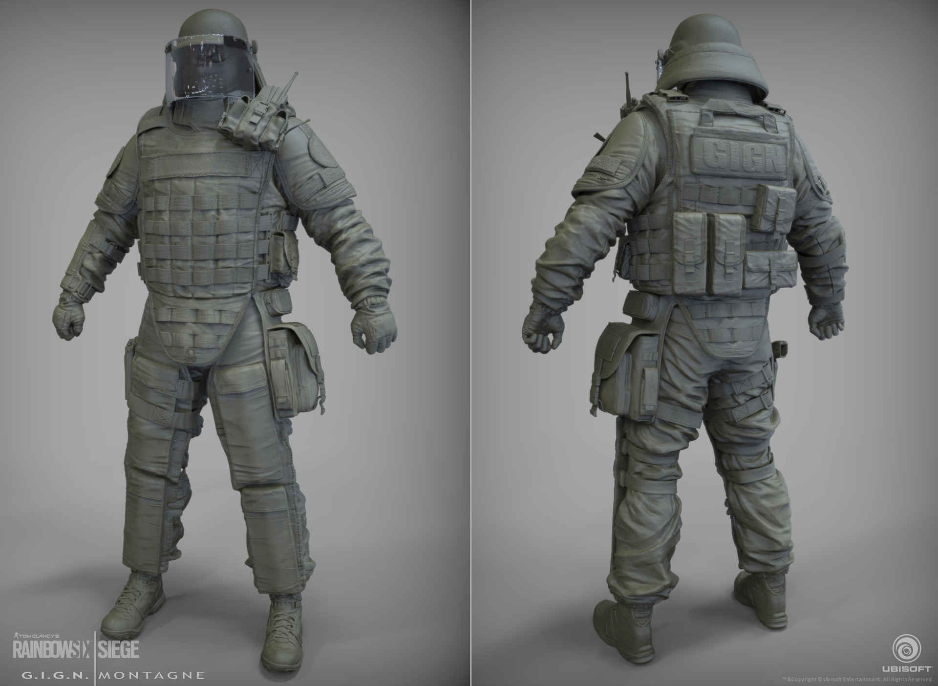 J mark gign montagne sculpt