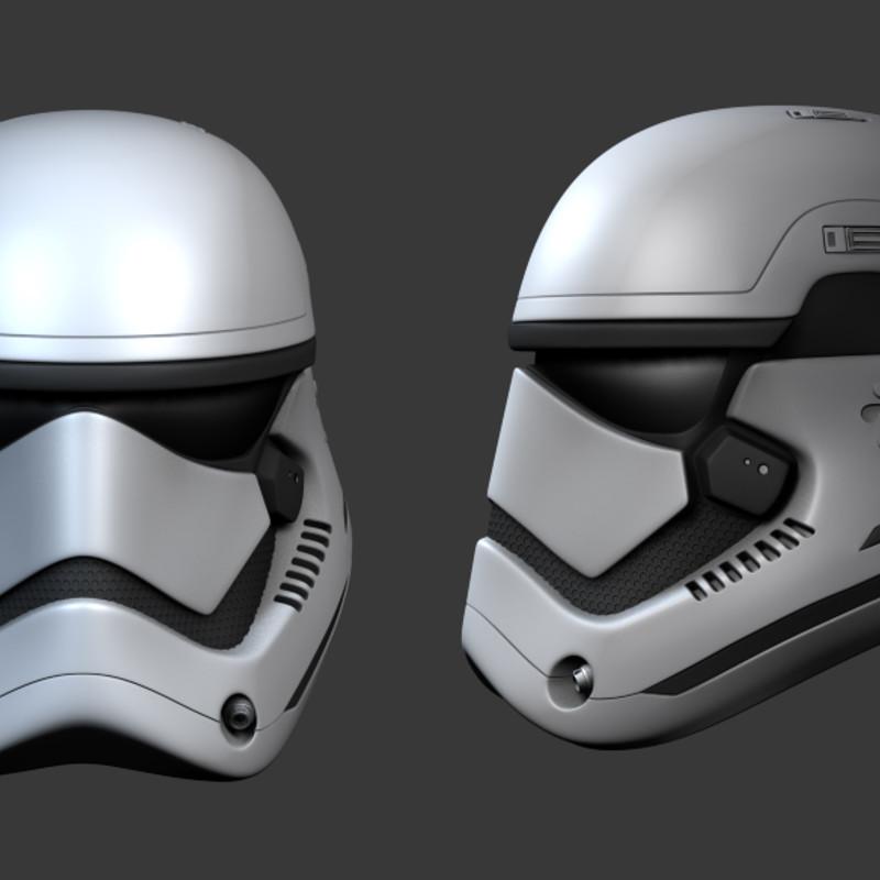 Star Wars - The Force Awakens Stormtrooper Helmet