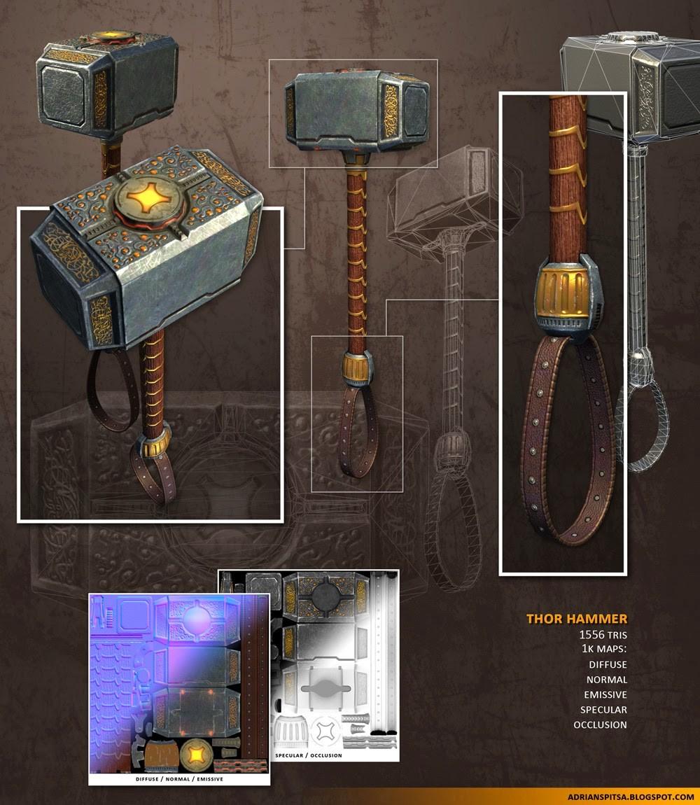 Adrian spitsa thor hammer