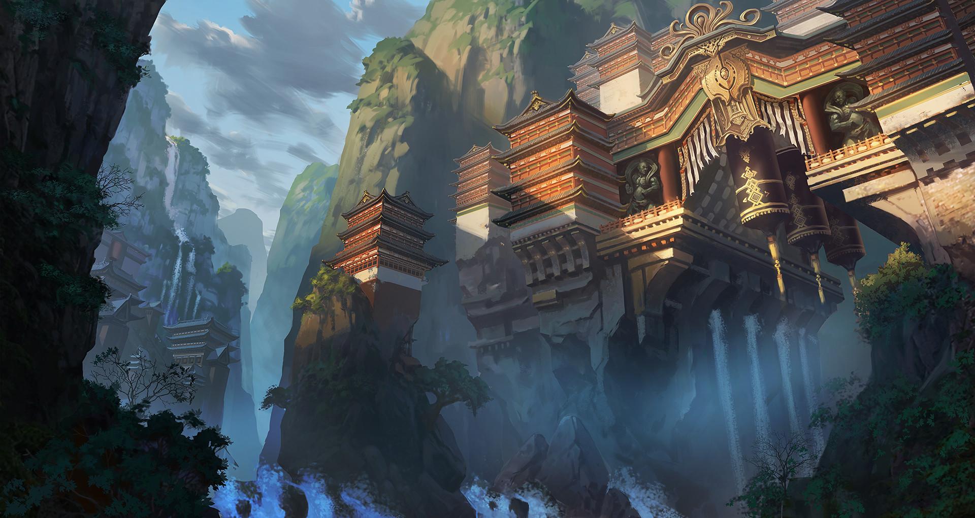 Zhao zhixian temple