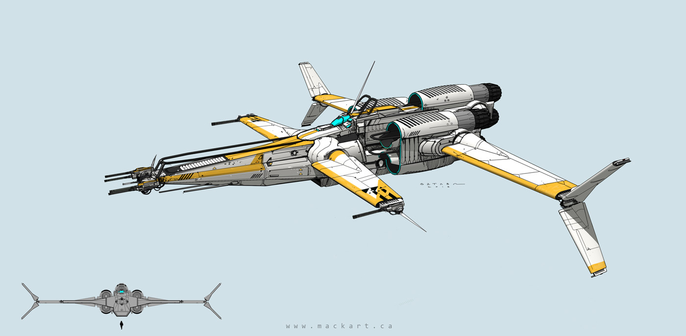Mack sztaba star fighter