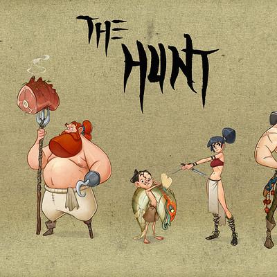 Alberto camara thehunt cast2