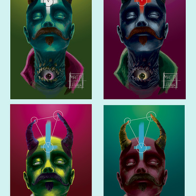 Marcos mansur devil cmyk color key