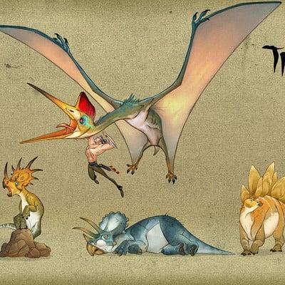 Alberto camara thehunt cast dinosaurs