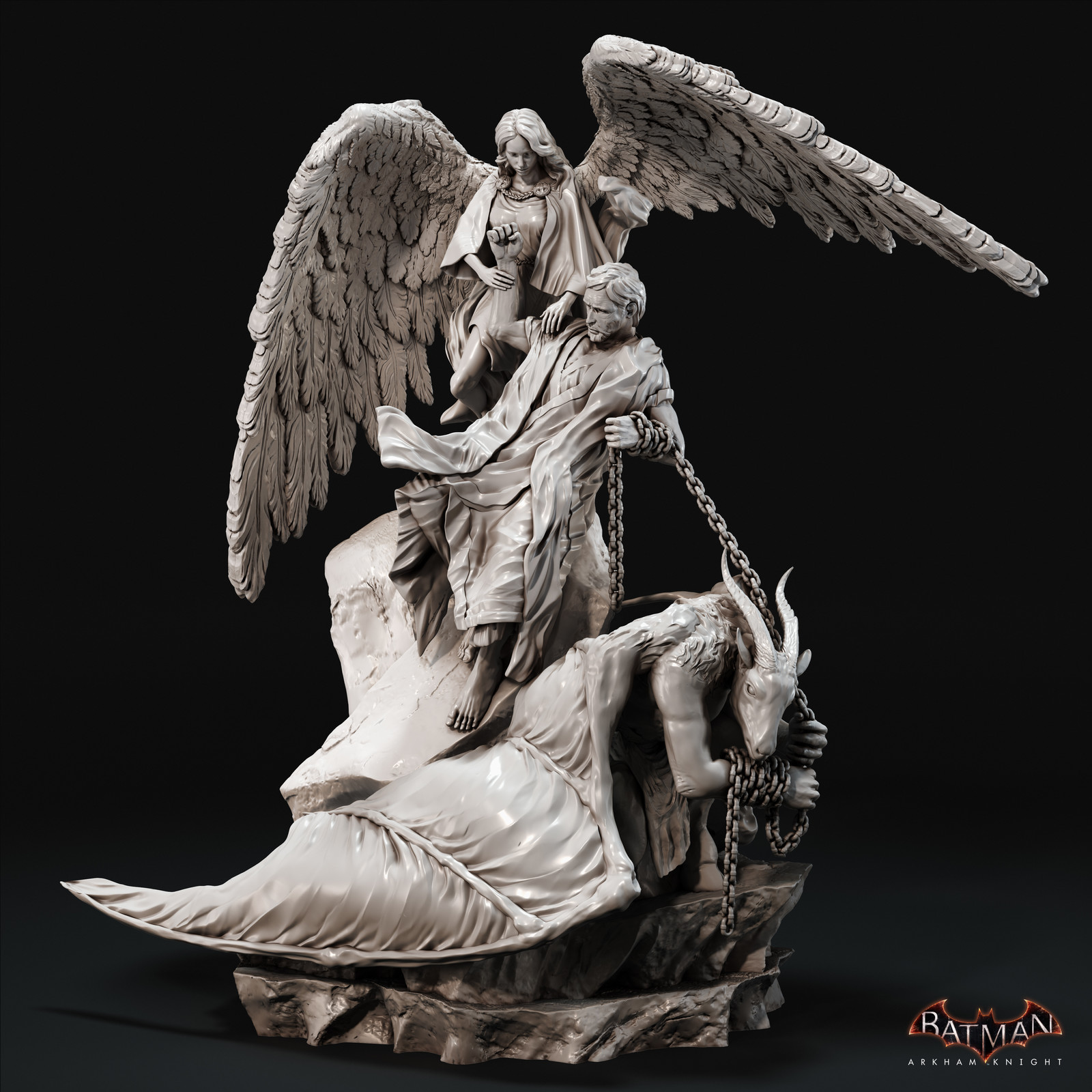 Batman Arkham Knight - Flip of a coin DLC Statue
