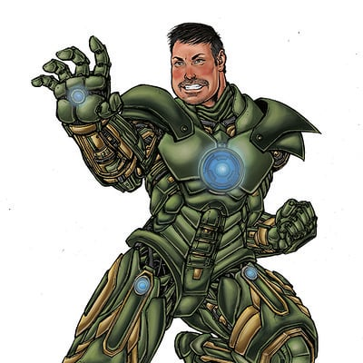 Gustavo melo richard iron man green version jpg baixa