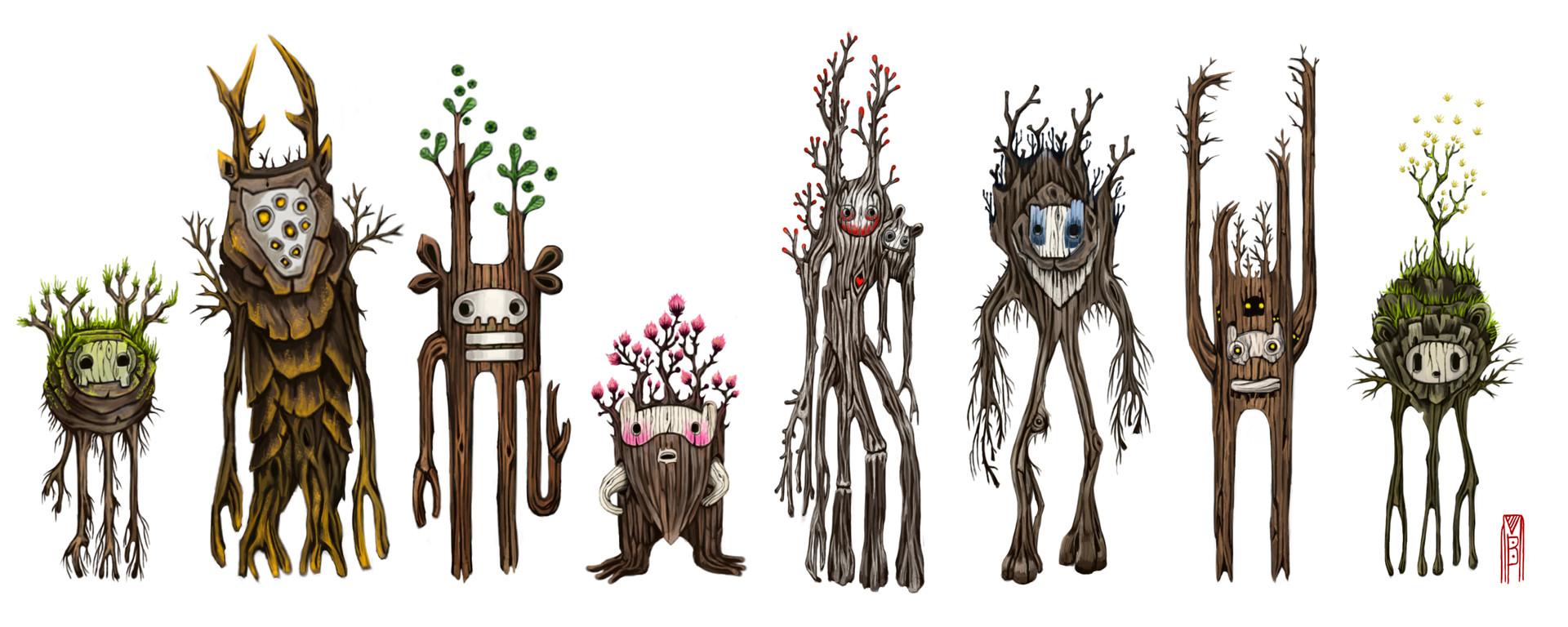 роза картинки про деревьев монстров сделать простую