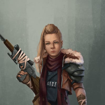 Maja deke post apocalyptic scout