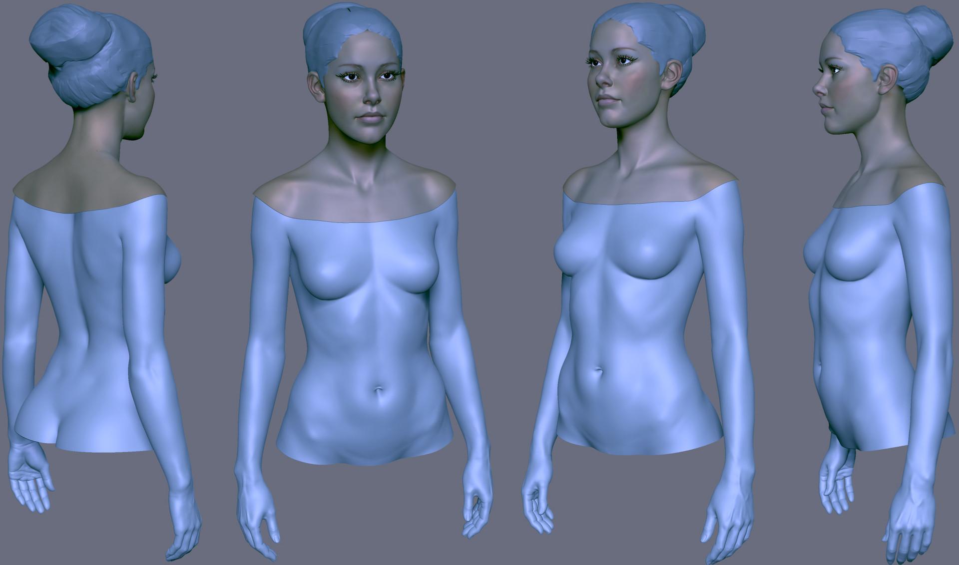 body texture 3d - HD1920×1132