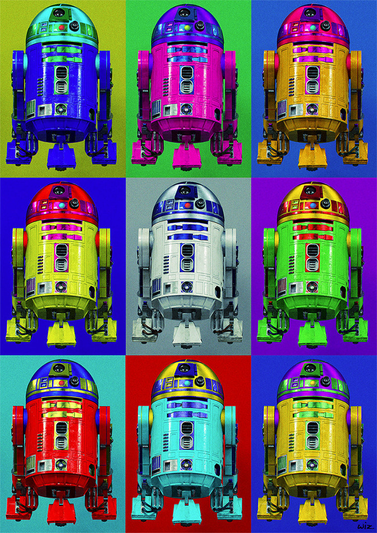 Paul wiz johnson r2 warhol