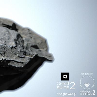 Rock Quixel sulte 2 render Marmoset Toolbag 2