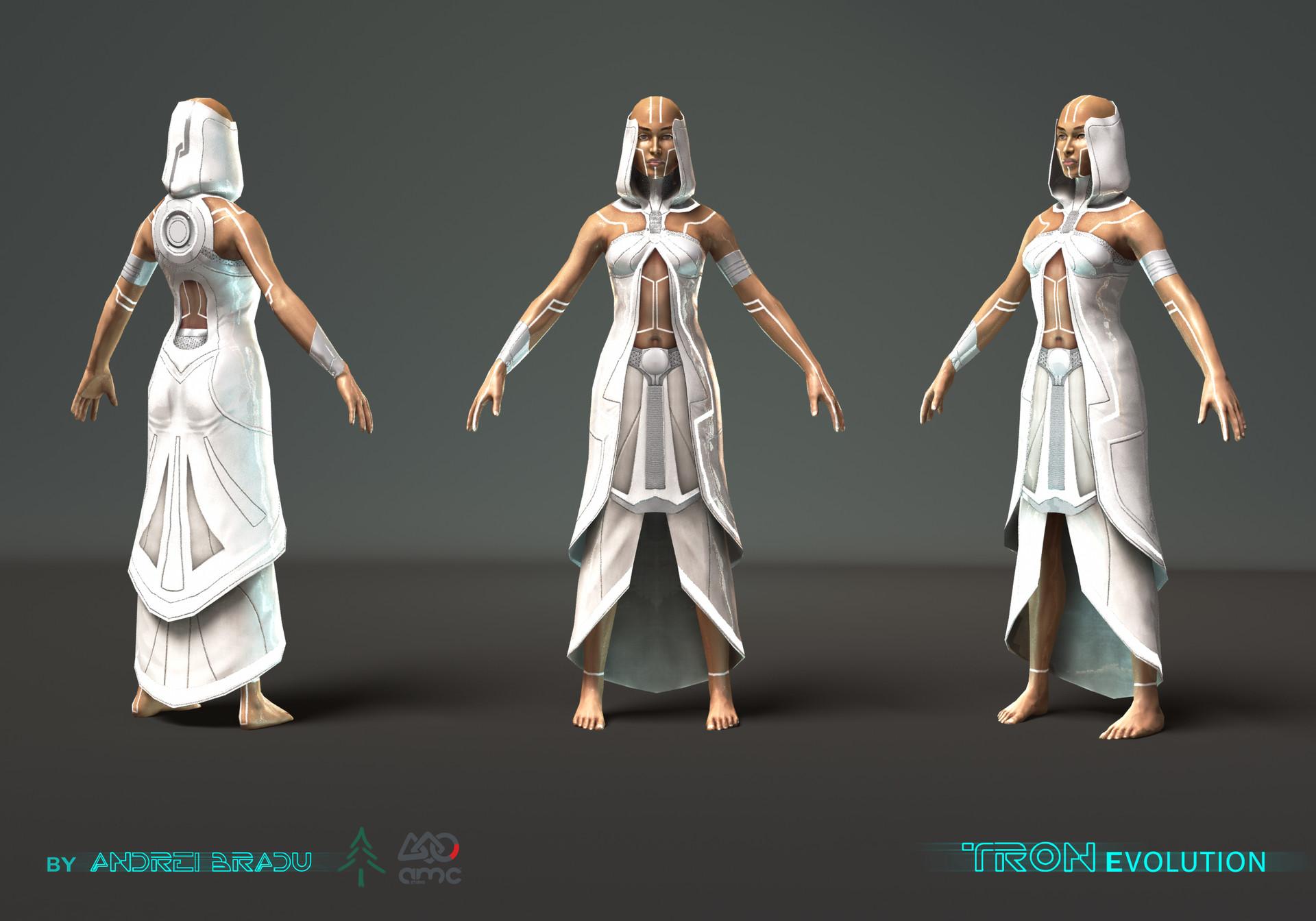 in-game character & ArtStation - TRON Evolution Andrei Bradu