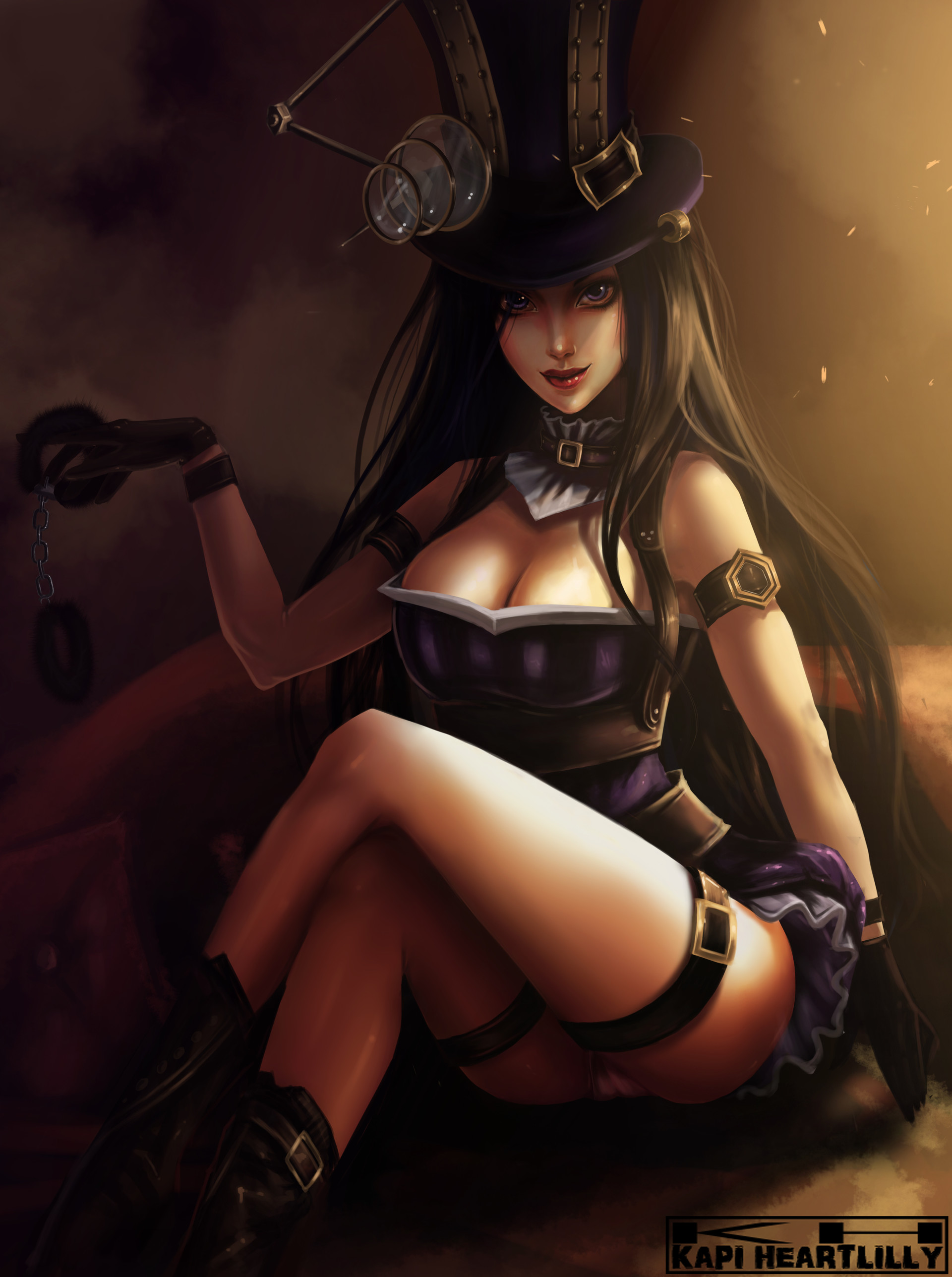League of legends sexy fan art