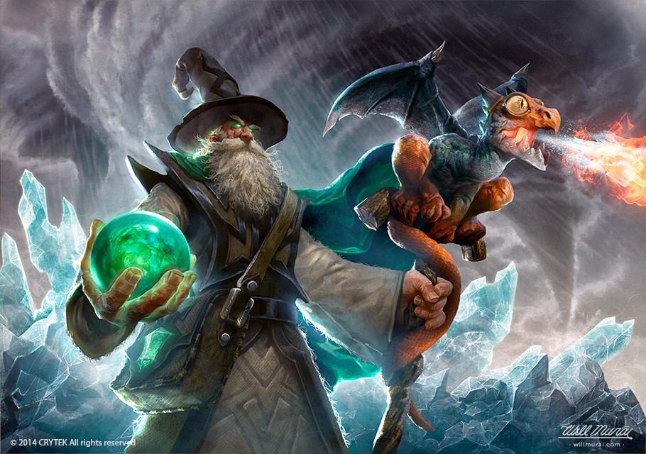 Artstation Merlin Arena Of Fate Will Murai