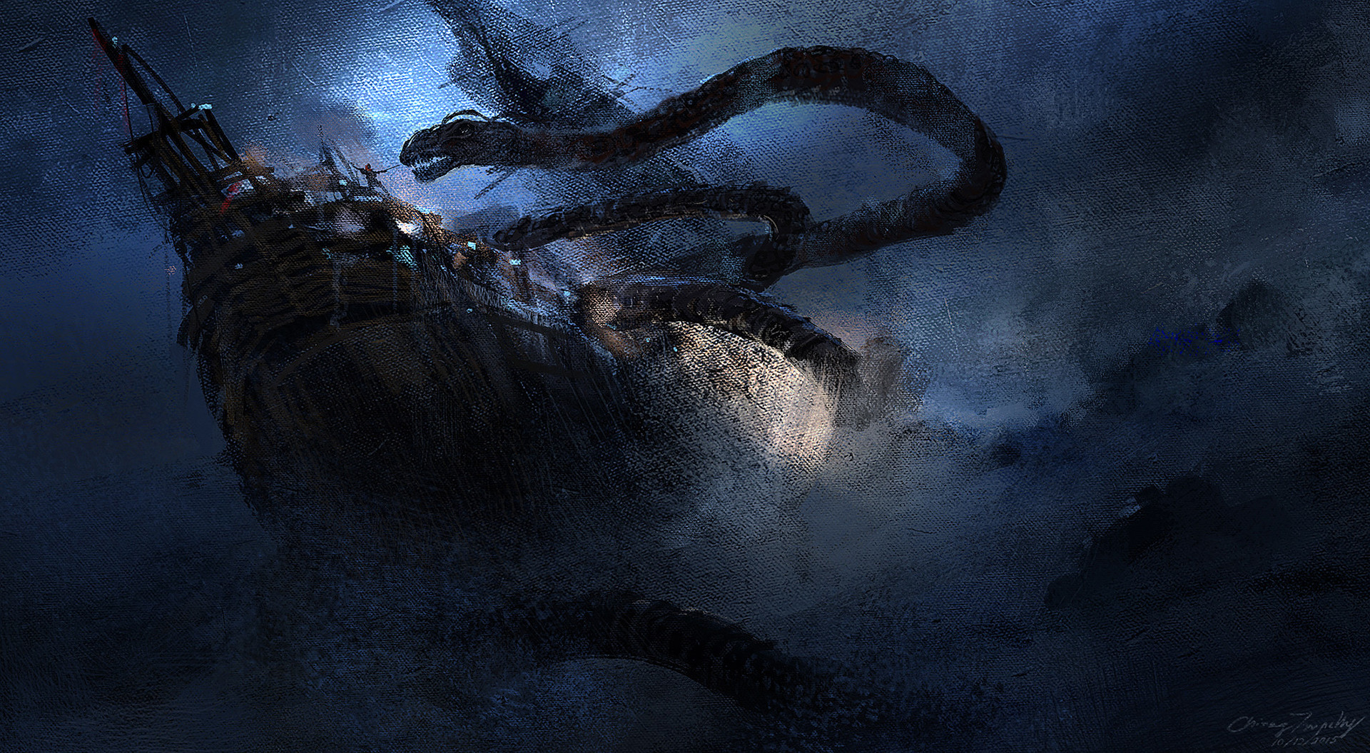 Chirag tripathy sea serpent l